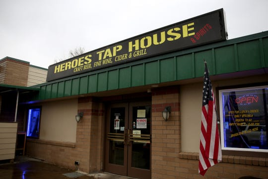 Heroes Tap House in Salem on March 22, 2019.
