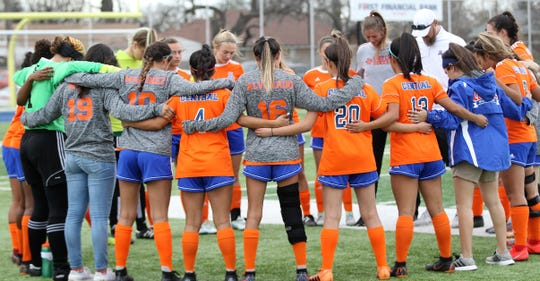 The 2019 San Angelo Central High School girls soccer team went through the regular season without a loss for the first time.