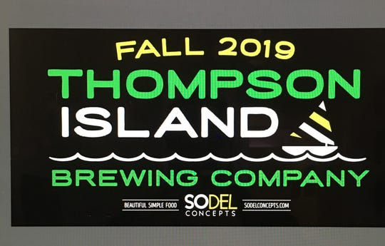 The brewpub coming from SoDel Concepts will be known as Thompson Island Brewing Company.