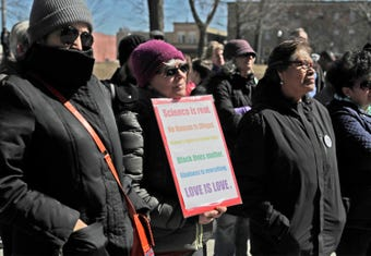 Sheboygan held a Unity March which kicks off a people's movement