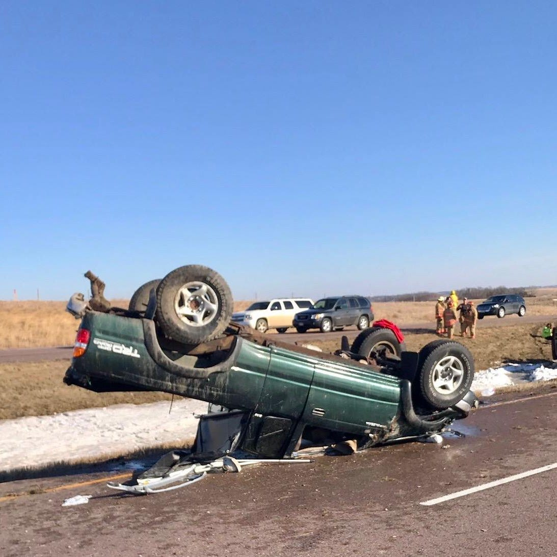 Charges pending in Interstate 29 rollover car crash