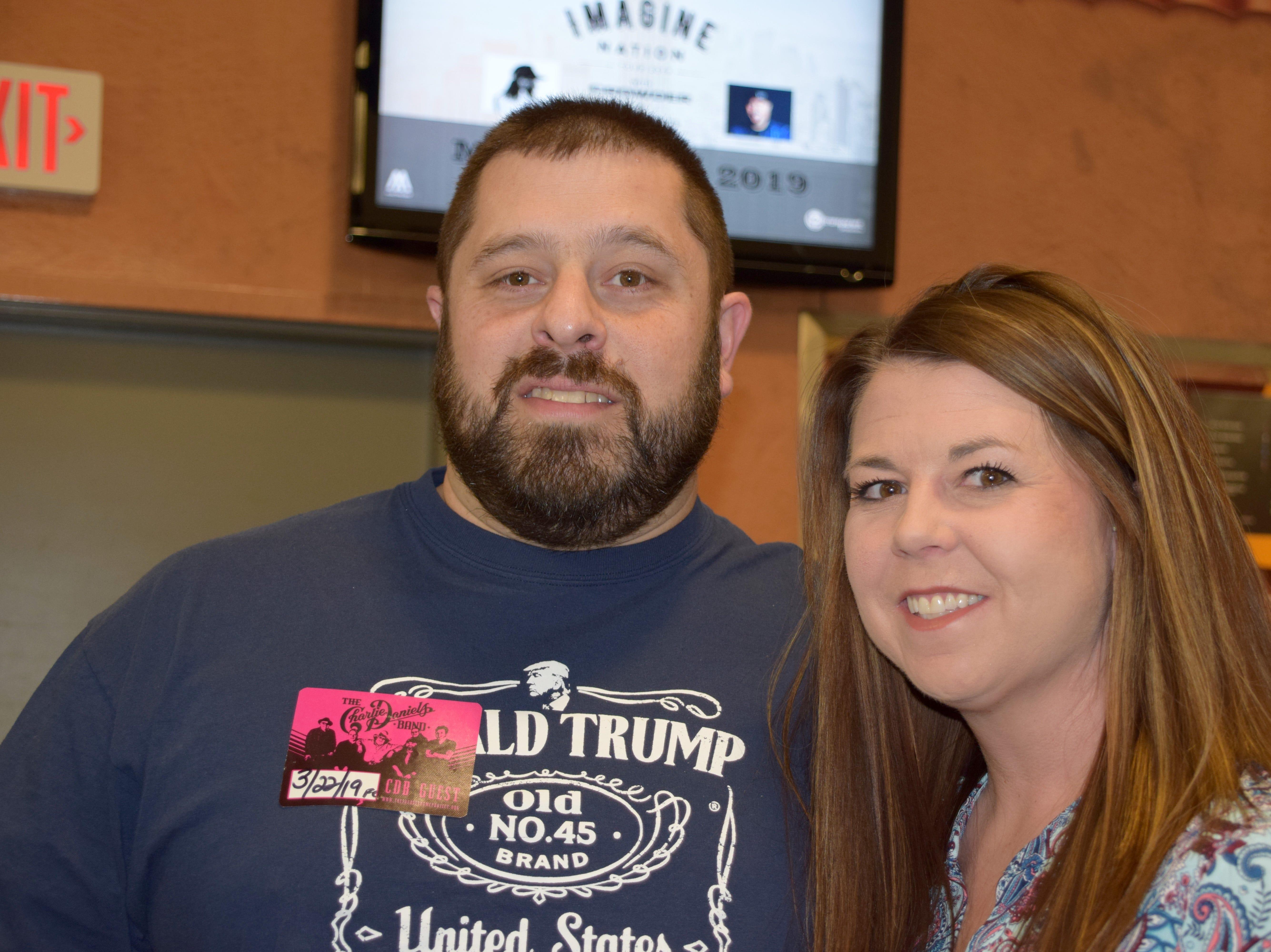 Brandon Peterson and Heidi Simpkins