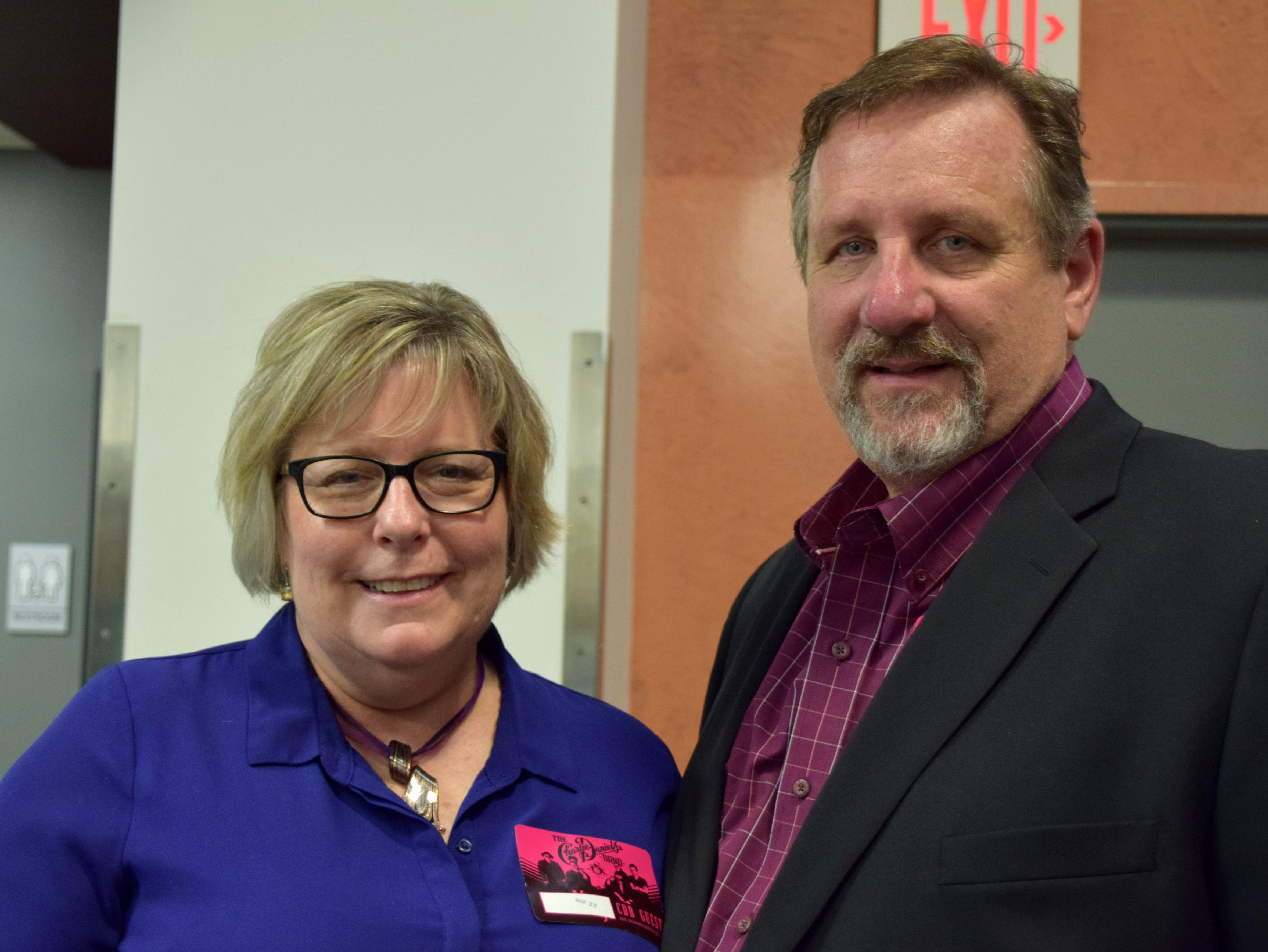 Joanne and Larry Mankins