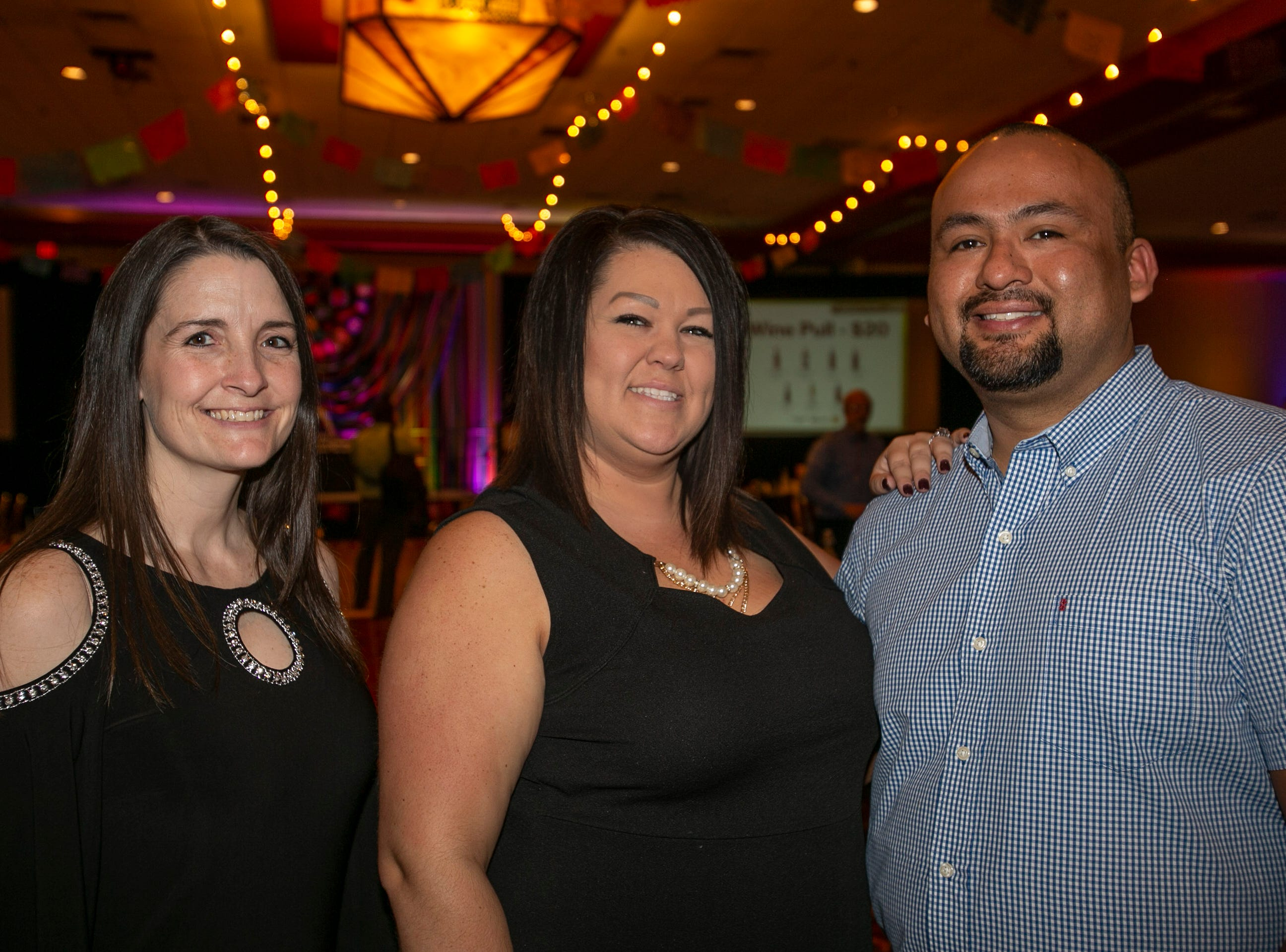 Terri Copeland, Tiffany Rogers, and Sonny Alegre