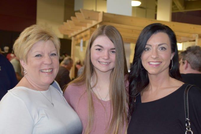 Carol Coursey, Ashlyn and Shannon Sorrells