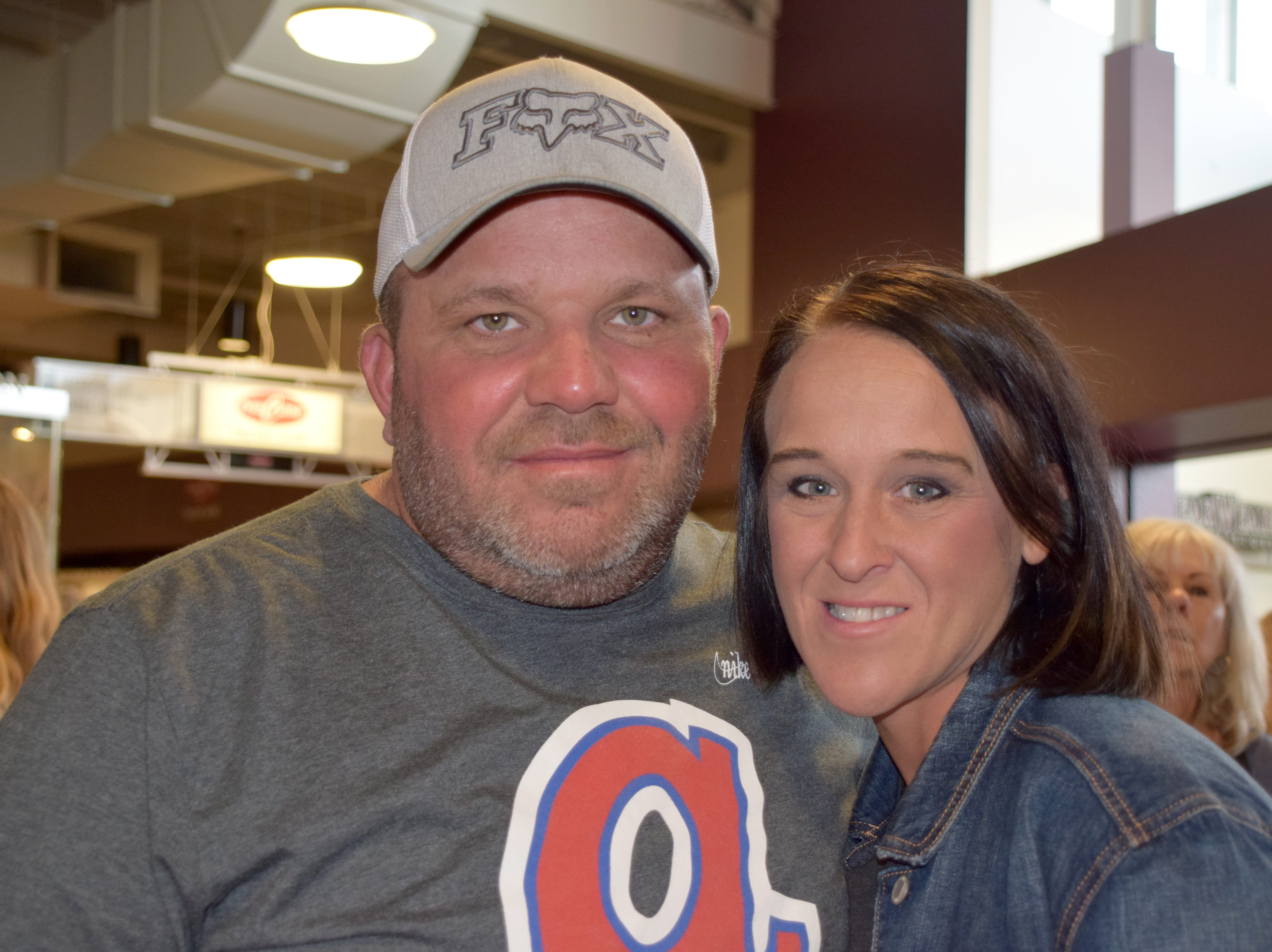 Jeff and Stacey Grissom
