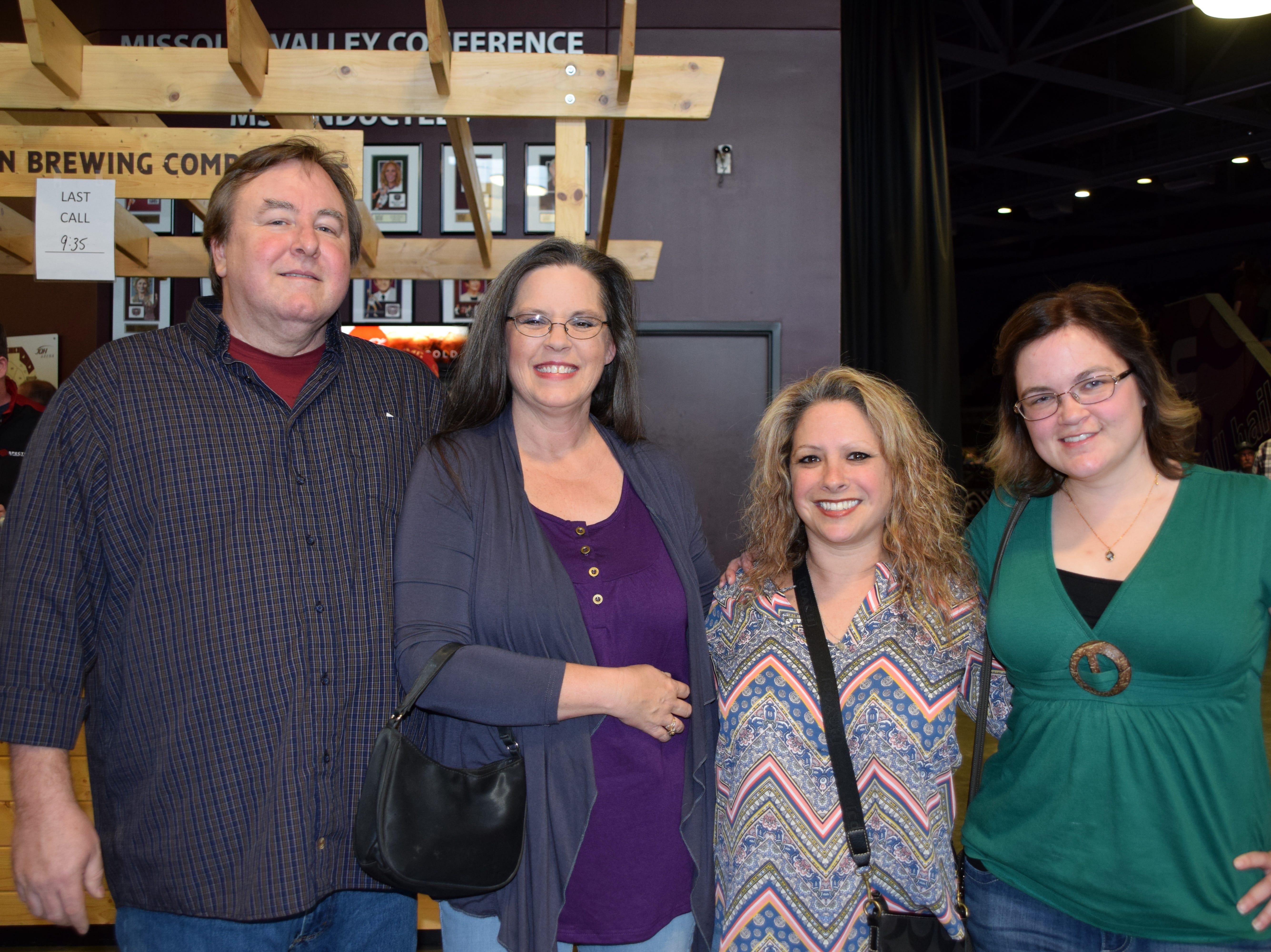 Richard and Regina Johnson, Angela Smith and Bridget Zacharias