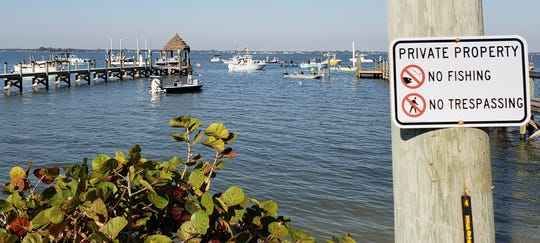 Fish Joyce's Dock took place Saturday without incident in Sebastian in the Indian River Lagoon.