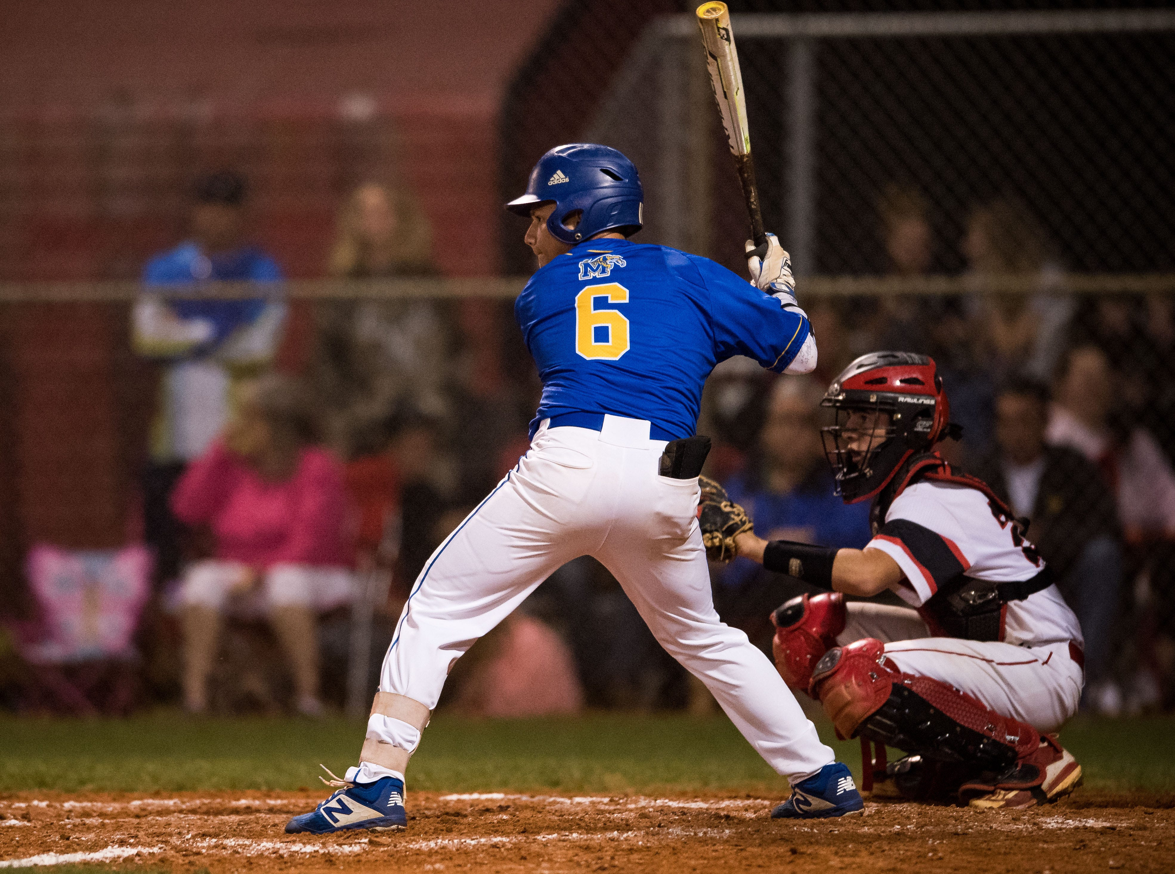 Martin County plays against South Fork during the 2019 Robbie Souza Classic high school baseball game Friday, March 22, 2019, at South Fork High School in Tropical Farms. Martin County won, 5-1.