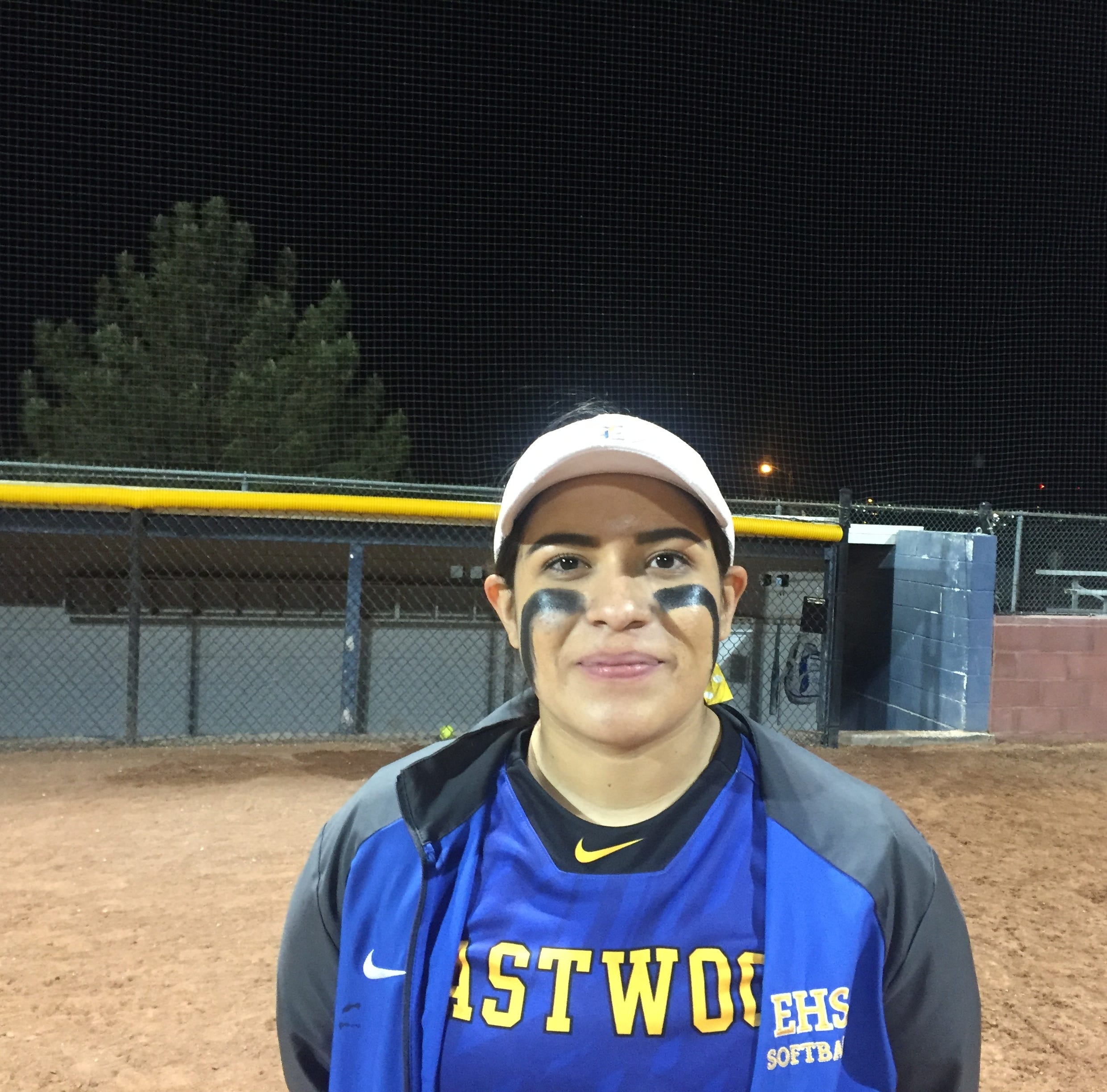 Jackie Loera helps lead Eastwood softball team this season