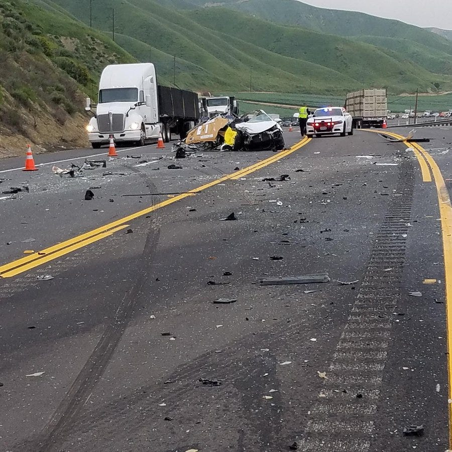 Woman killed in crash near Piru identified as Saugus resident