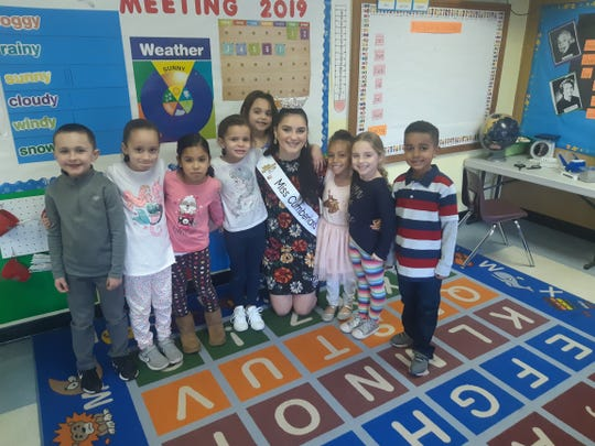 Alyssa Rodriguez, Miss Cumberland County 2019, recently visited The Ellison School in Vineland to read to the children in the Tiny Tots through fourth-grade classes. She also spoke to them about the importance of being kind and of being responsible on social media.