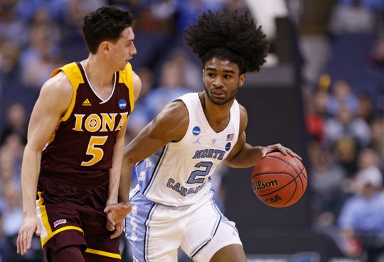 North Carolina's Coby White (2)