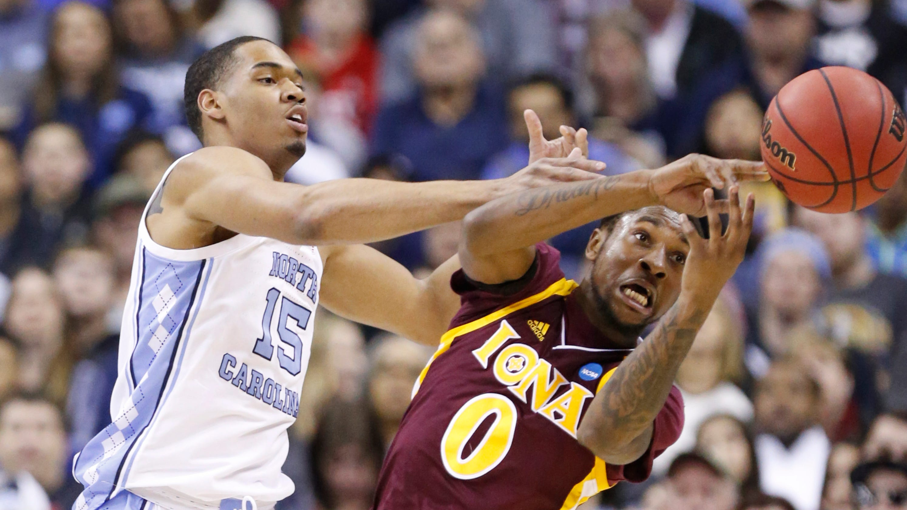NCAA Tournament: Iona runs out of gas, falls to top seed ...