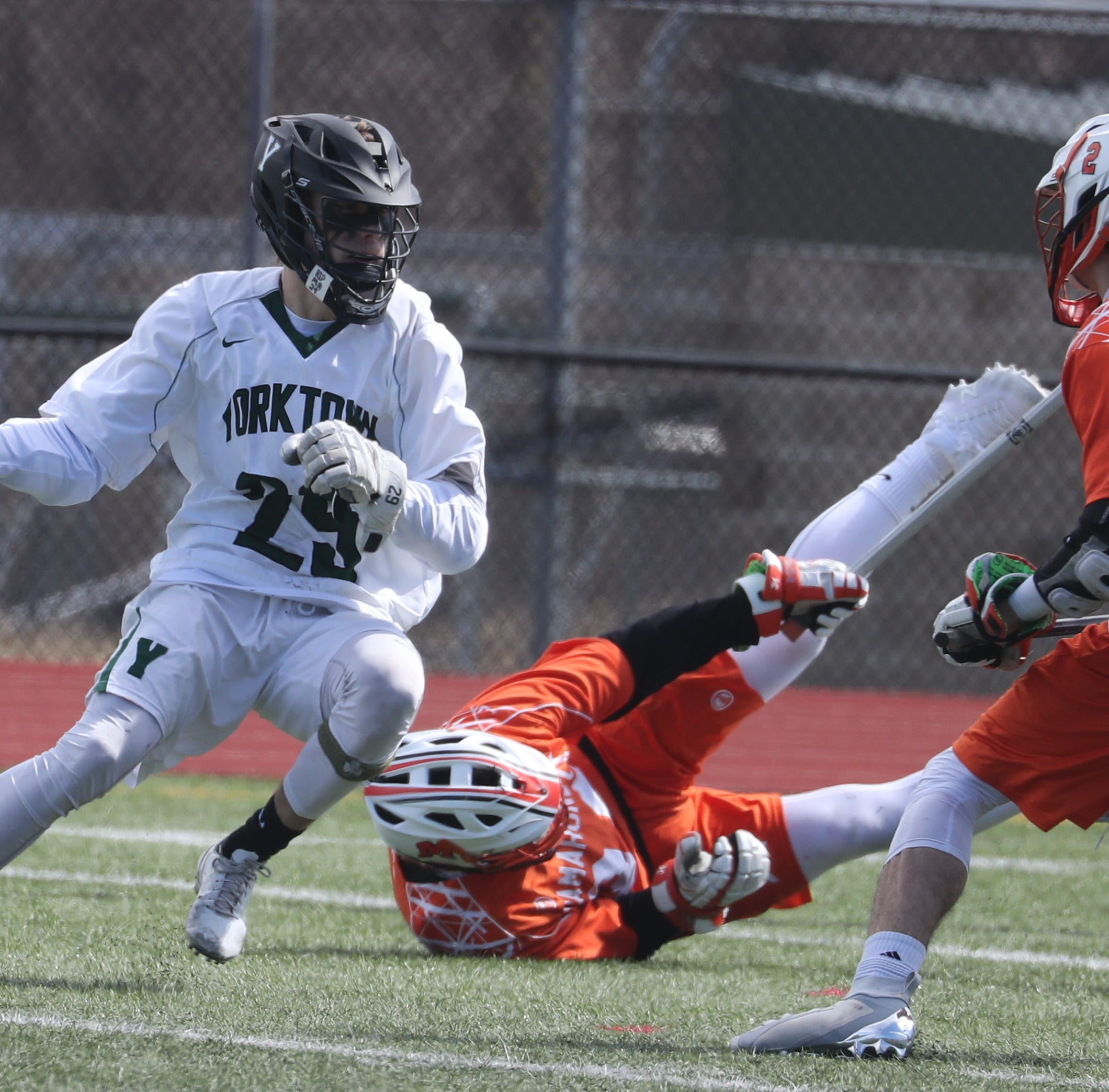 Boys lacrosse rankings: Yorktown moves back on top despite first setback