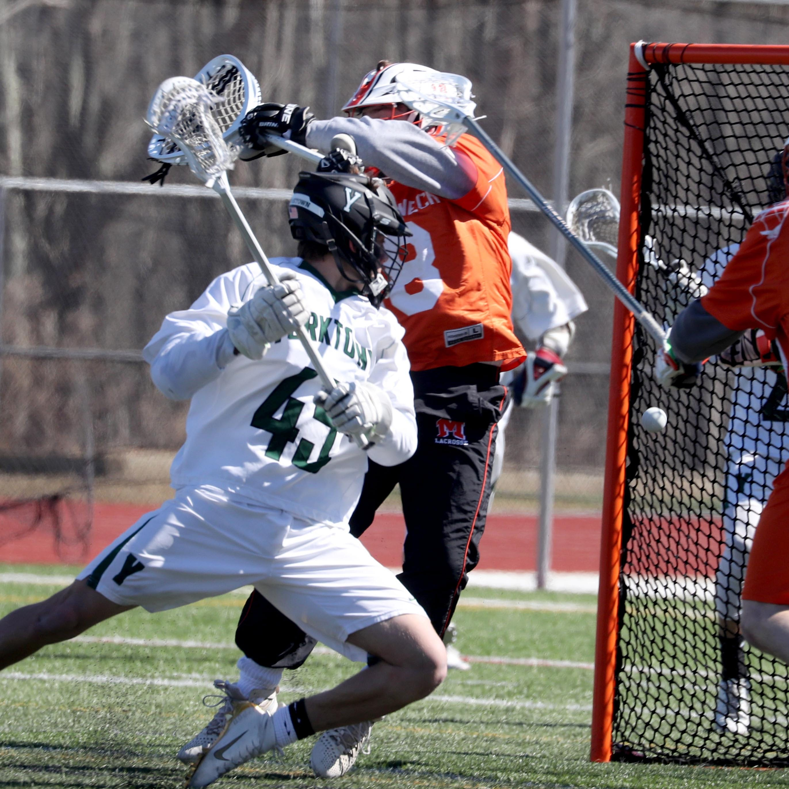 Boys lacrosse: Yorktown holds off Mamaroneck in season opener