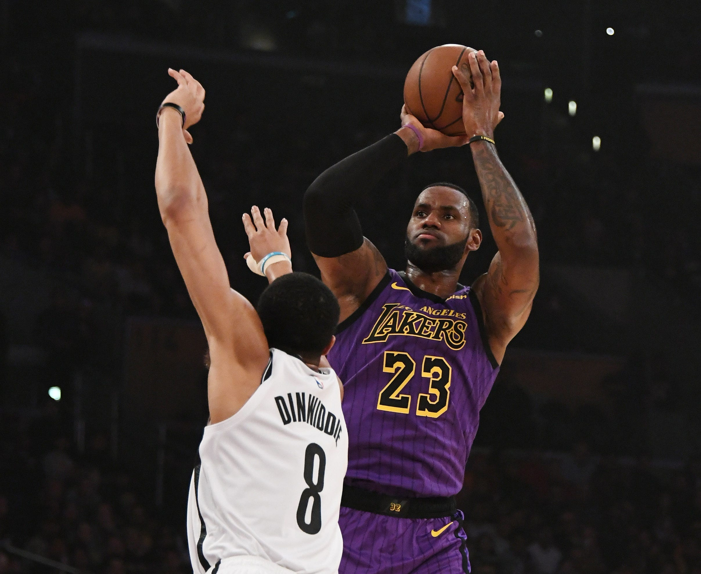 Lakers eliminated from playoff contention with loss to Nets
