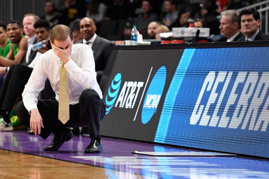It hasn't always been easy for Oregon Ducks Dana Altman, but his Ducks are in the second round of the NCAA tournament.
