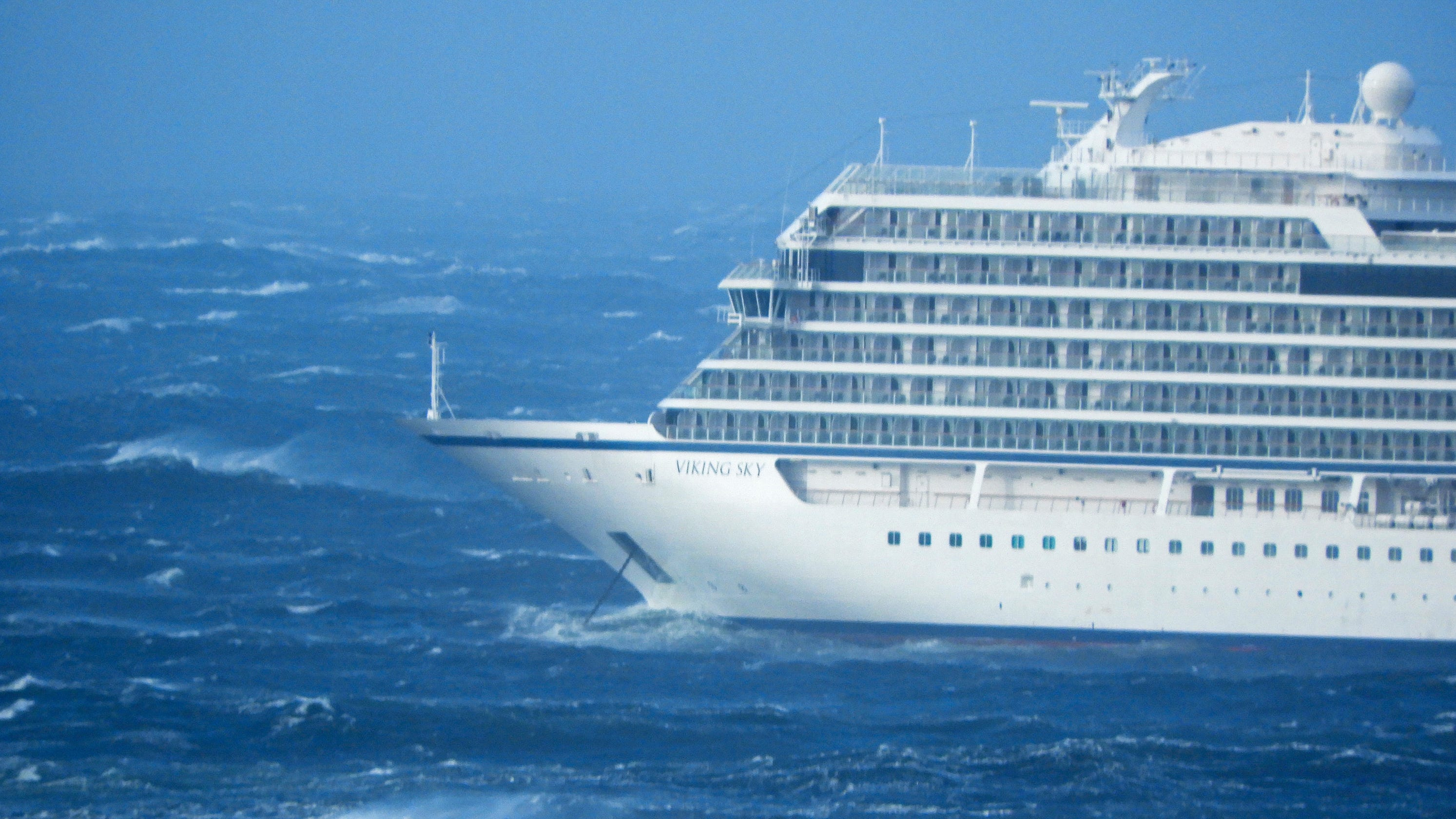 Cruise ship off Norway issues mayday, begins evacuating 1,300 passengers and crew