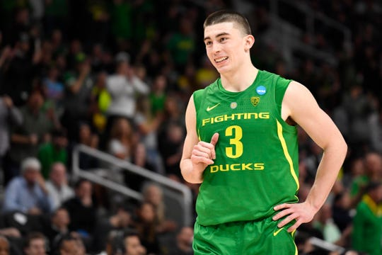 Oregon guard Payton Pritchard has been the difference in the Ducks' late-season run.