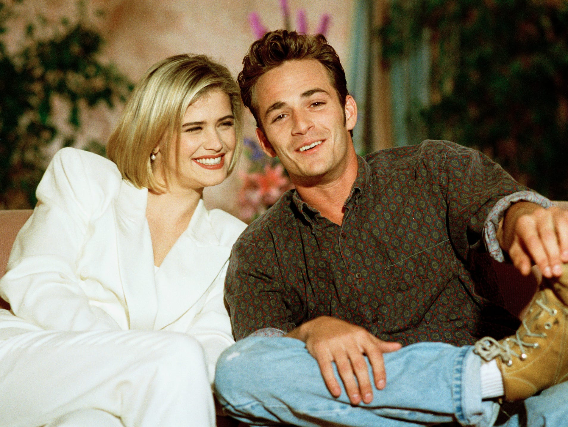 Luke Perry gets sweet photo tribute from his 'Buffy' co-star Kristy Swanson