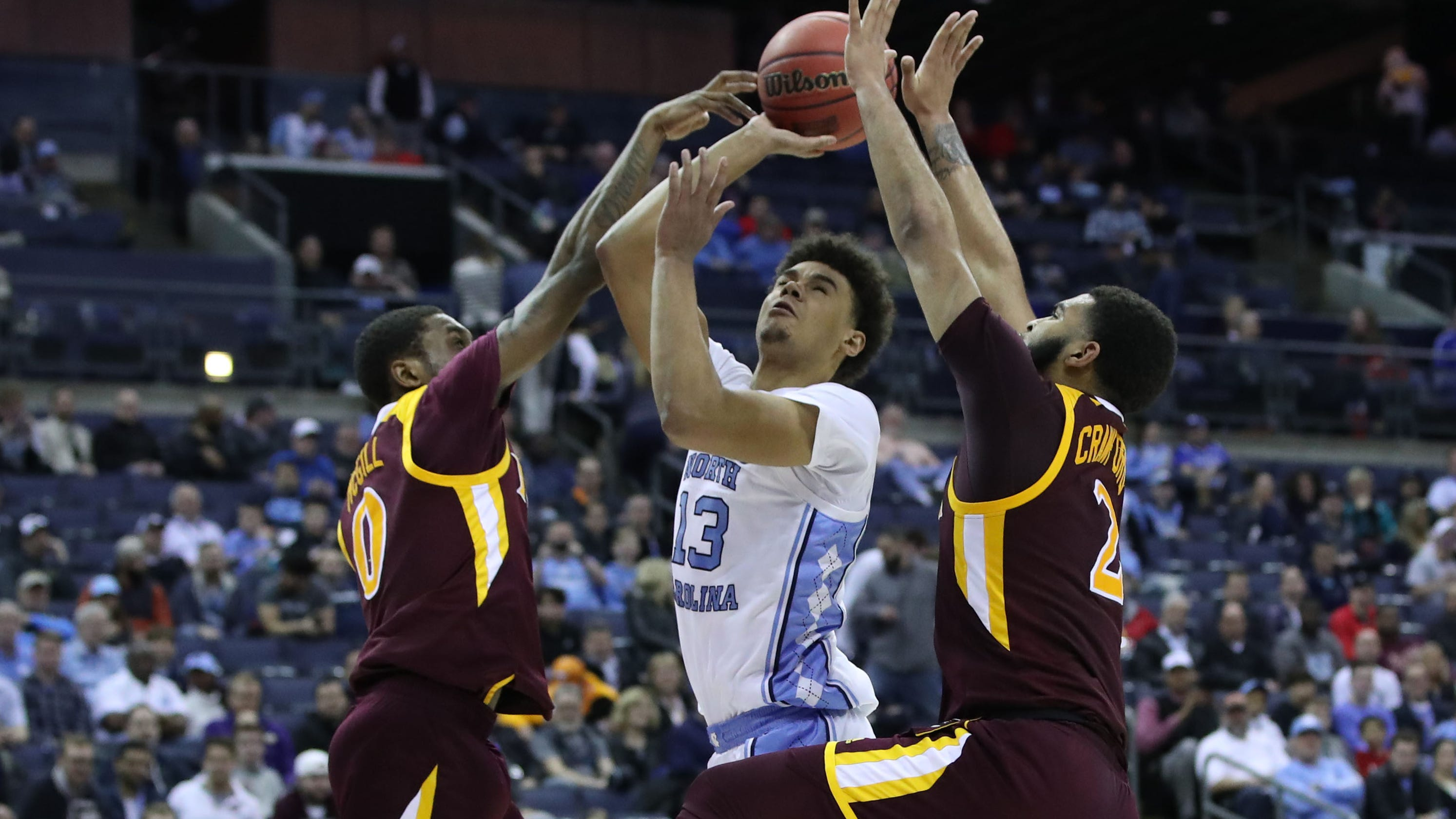 NCAA tournament: North Carolina shakes off slow start to roll past Iona