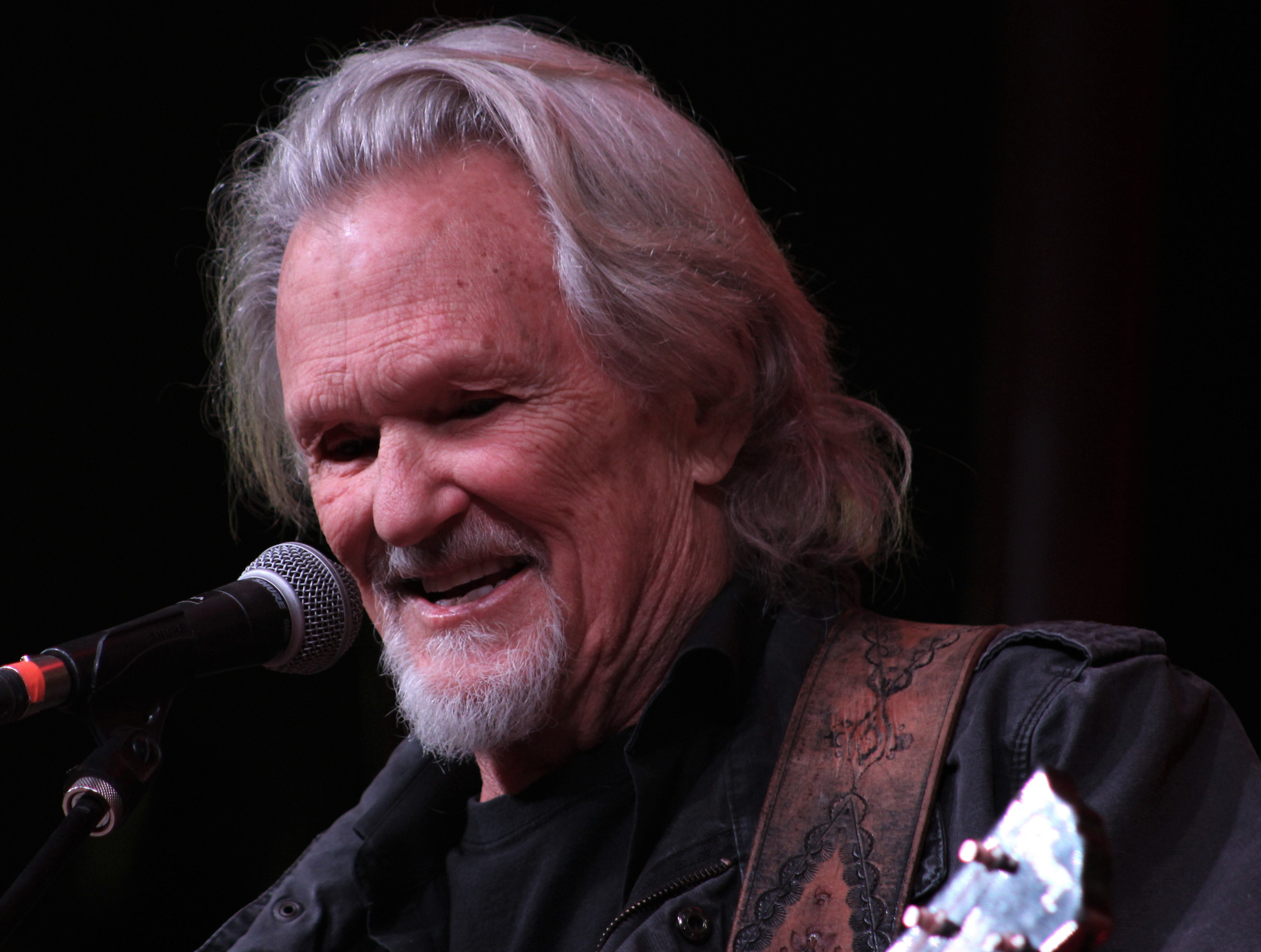 Kris Kristofferson headlined Saturday evening March 23, 2019, at the 9th Outlaws & Legends Music Festival.