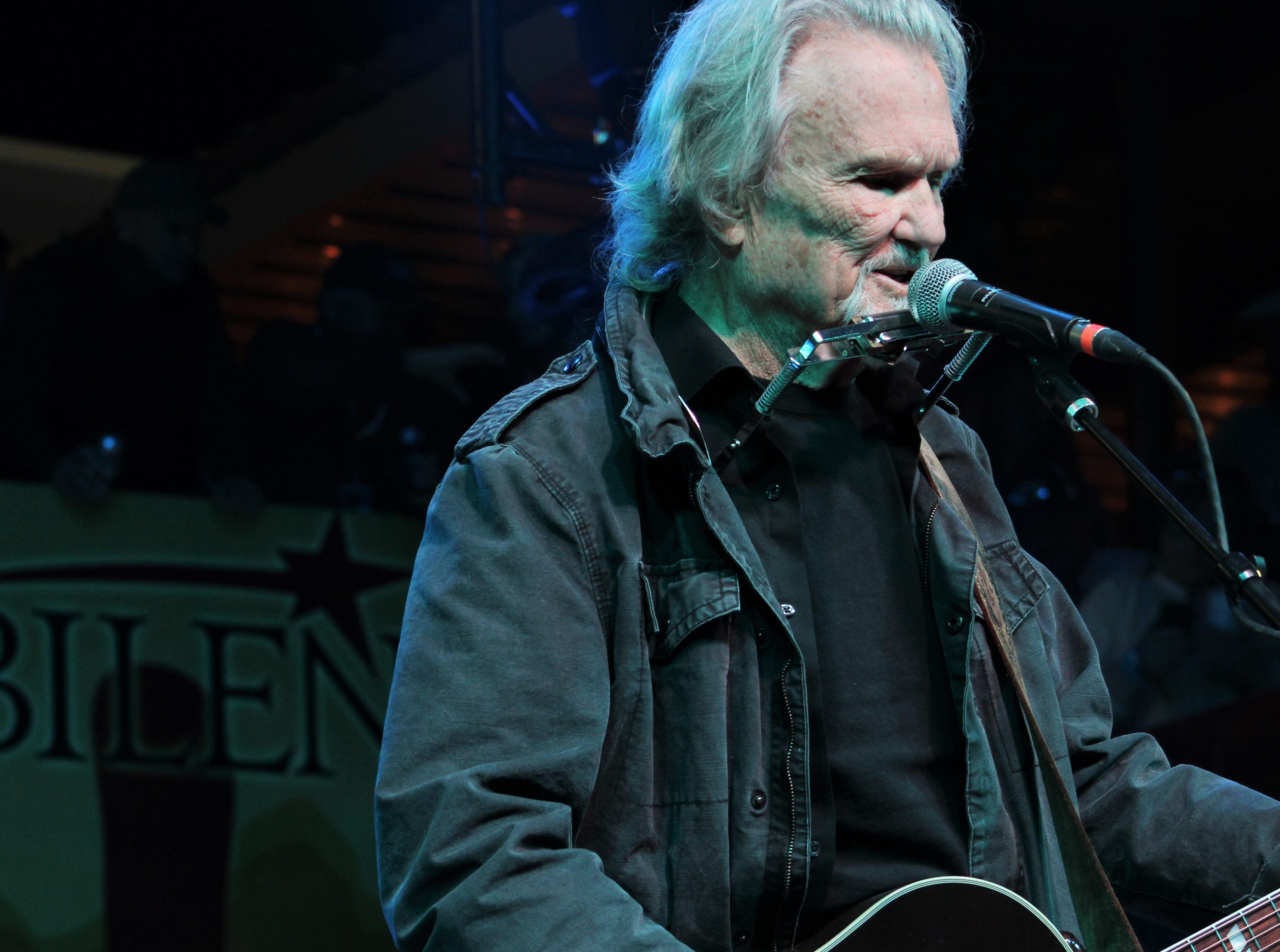 Krist Kristofferson on Saturday evening March 23, 2019, at the 9th Outlaws & Legends Music Festival.