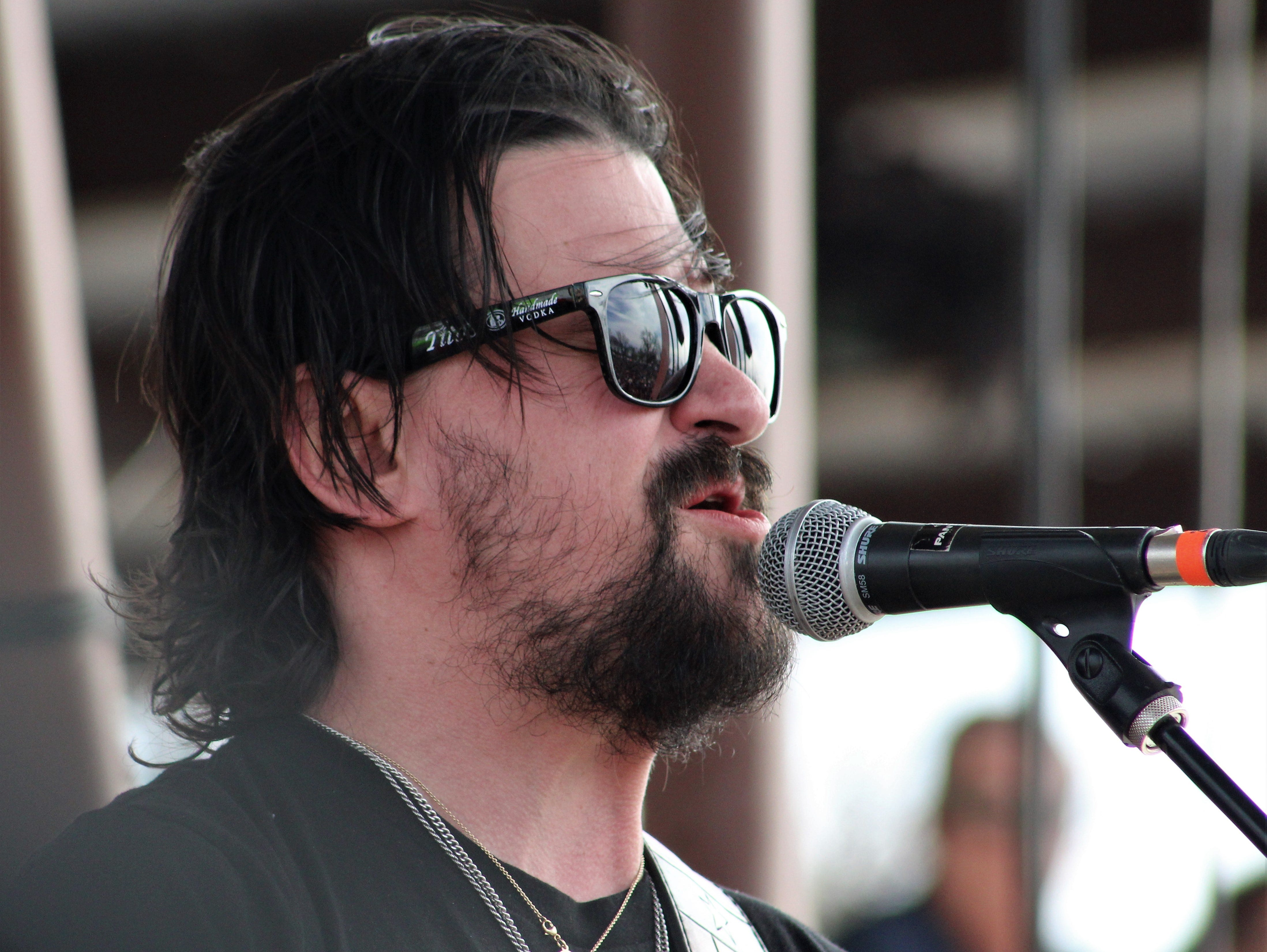 Shooter Jennings at Saturday's Outlaws & Legends Music Festival March 23, 2019.