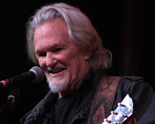 """Kris Kristofferson brought a softer finish to a rowdy Saturday at the Outlaws & Legends Music Festival at the Back Porch of Texas. His set included his classics """"Me and Bobby McGee"""" and """"Help Me Make It Through the Night."""""""
