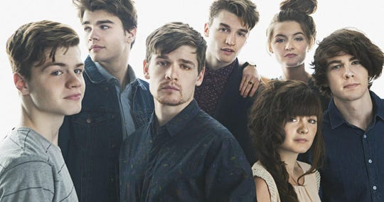 The Hunts are seven twentysomething brothers and sisters who've been writing and performing almost their entire lives.