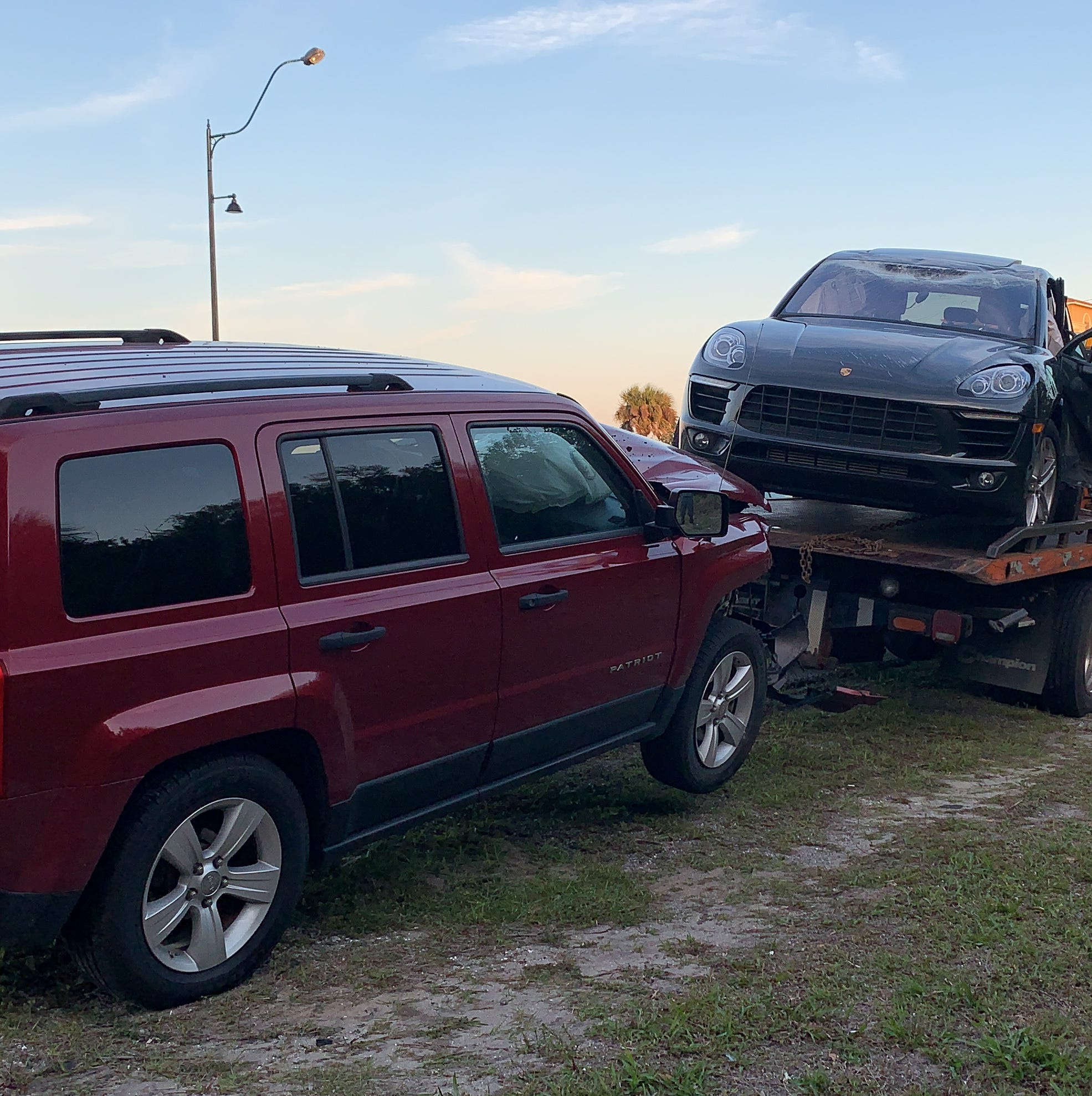 Crash on U.S. 1 in Palm Bay sends four to hospitals