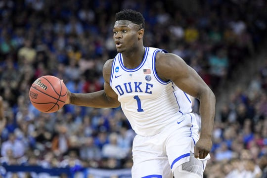 If the Grizzlies can't convey their first-round pick, they'll be hoping the draft lottery lands them electrifying Duke forward Zion Williamson.