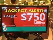 Powerball interest, like the jackpot, is on the rise. A cool $750 million is up for grabs Wednesday night, March 27.