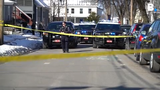 Police say a man was shot outside a home at the corner of Grant and Clarke Streets in Burlington, Vt., Sunday morning, March 24, 2019.