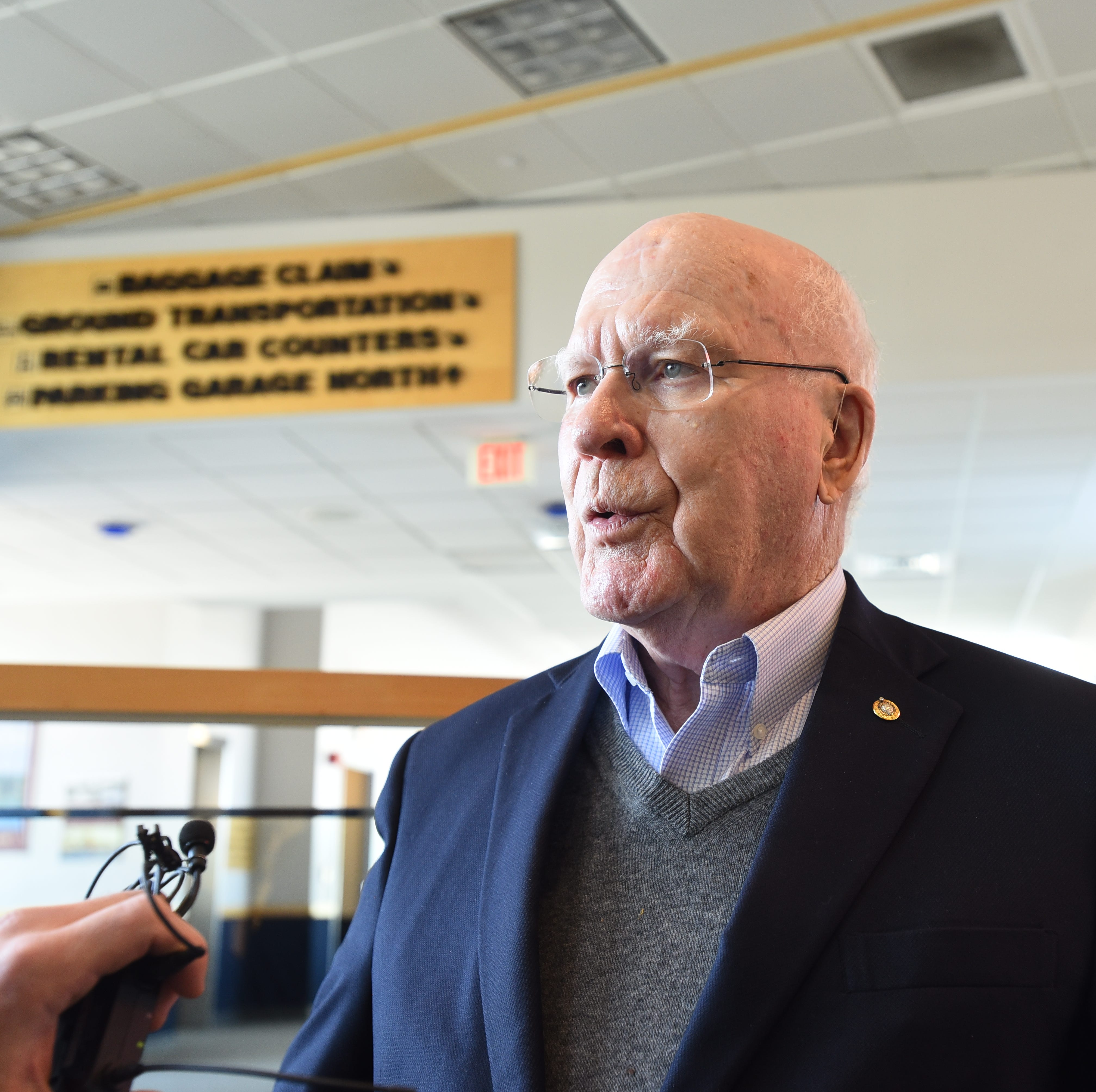 Sen. Patrick Leahy says he will be briefed on Mueller report Sunday