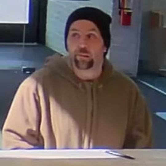 Police are seeking this man in connection with Sunday's robbery of a TD Bank in Berlin Borough.
