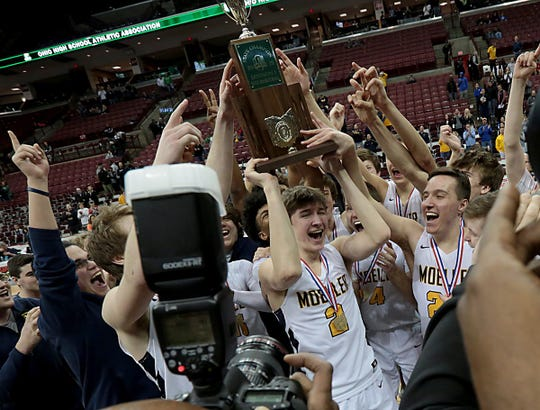 Moeller repeats as Division I state boys basketball champions