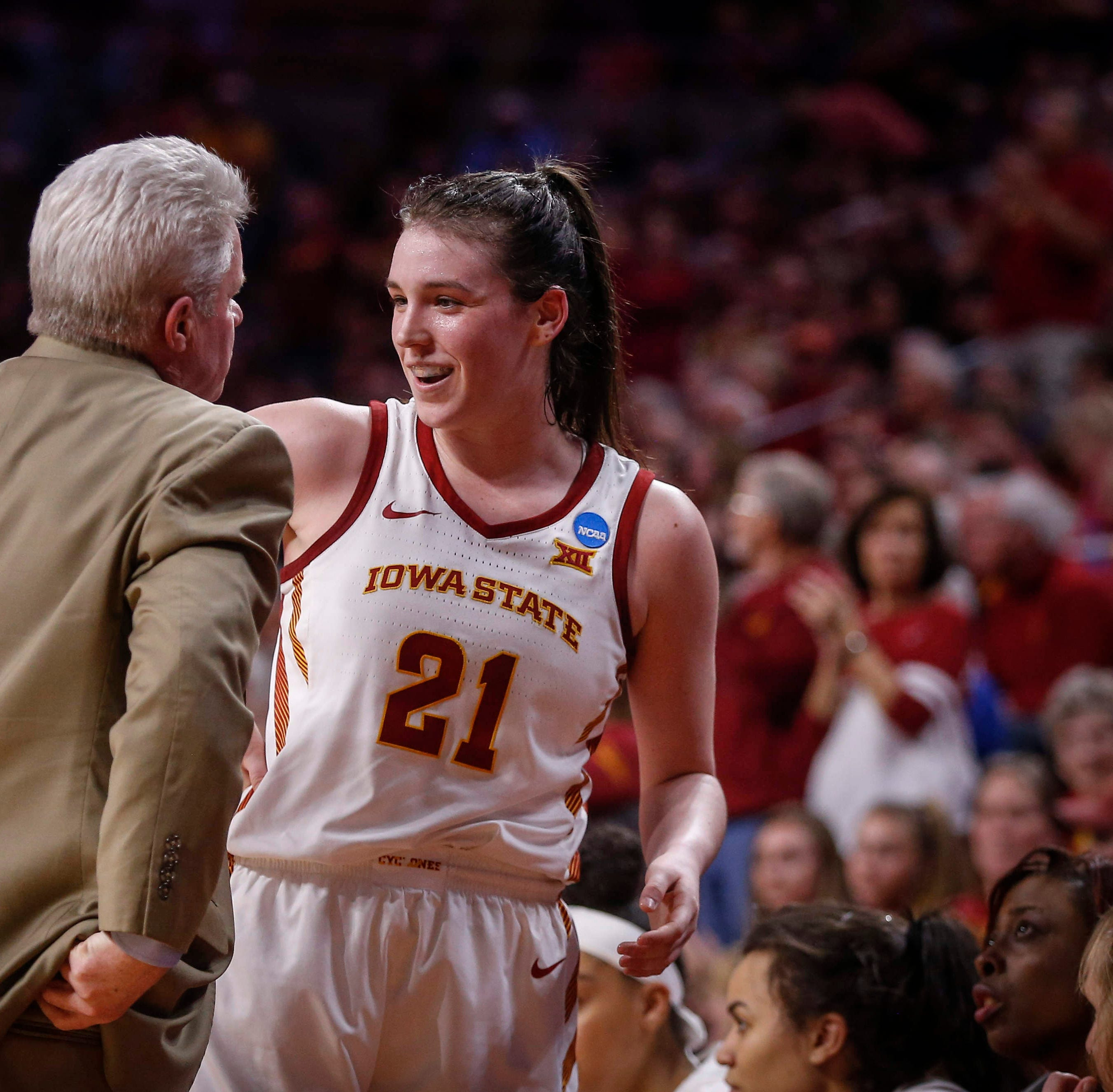 Iowa State's Bridget Carleton named second-team All-American