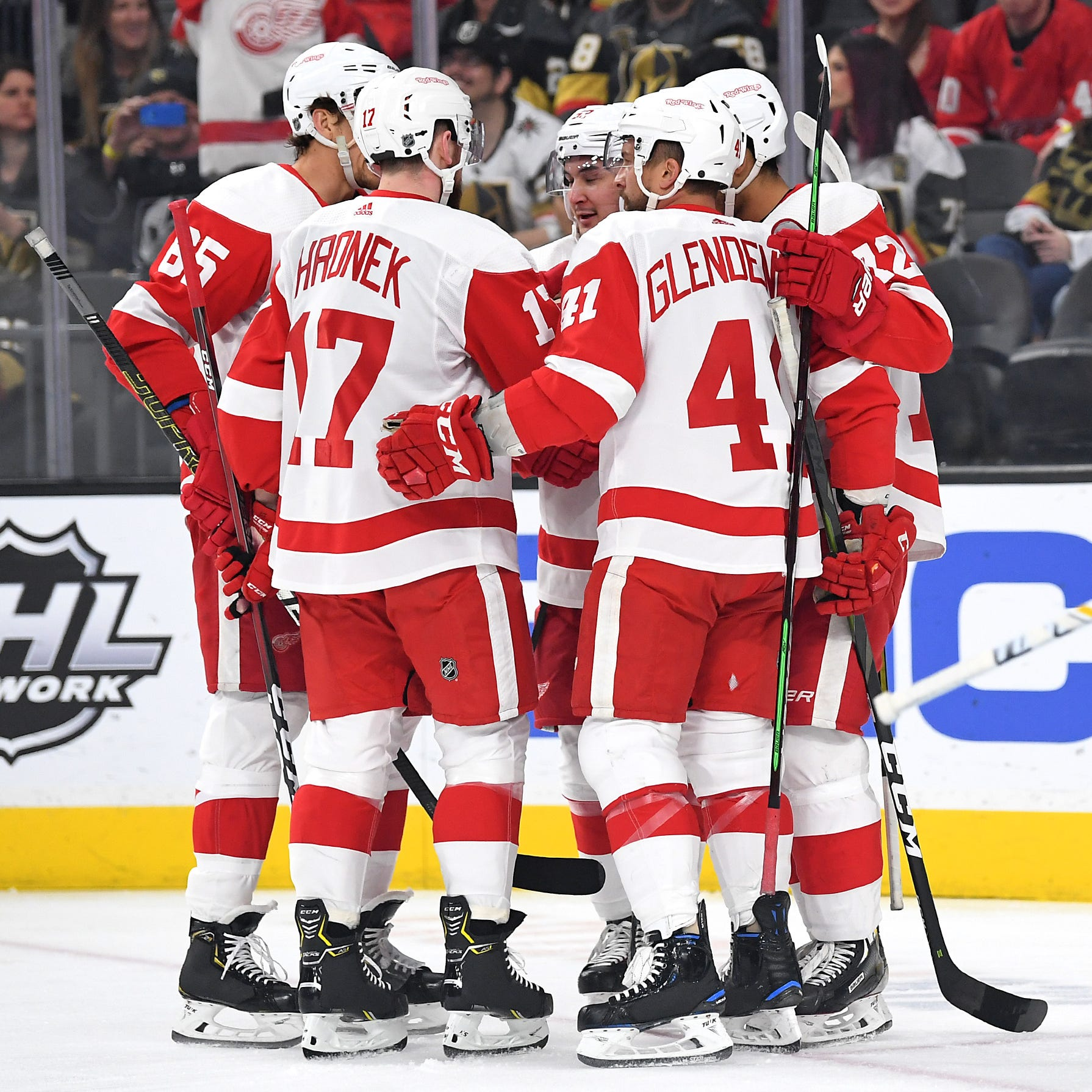 The Detroit Red Wings played a mature game in Vegas. Why that matters