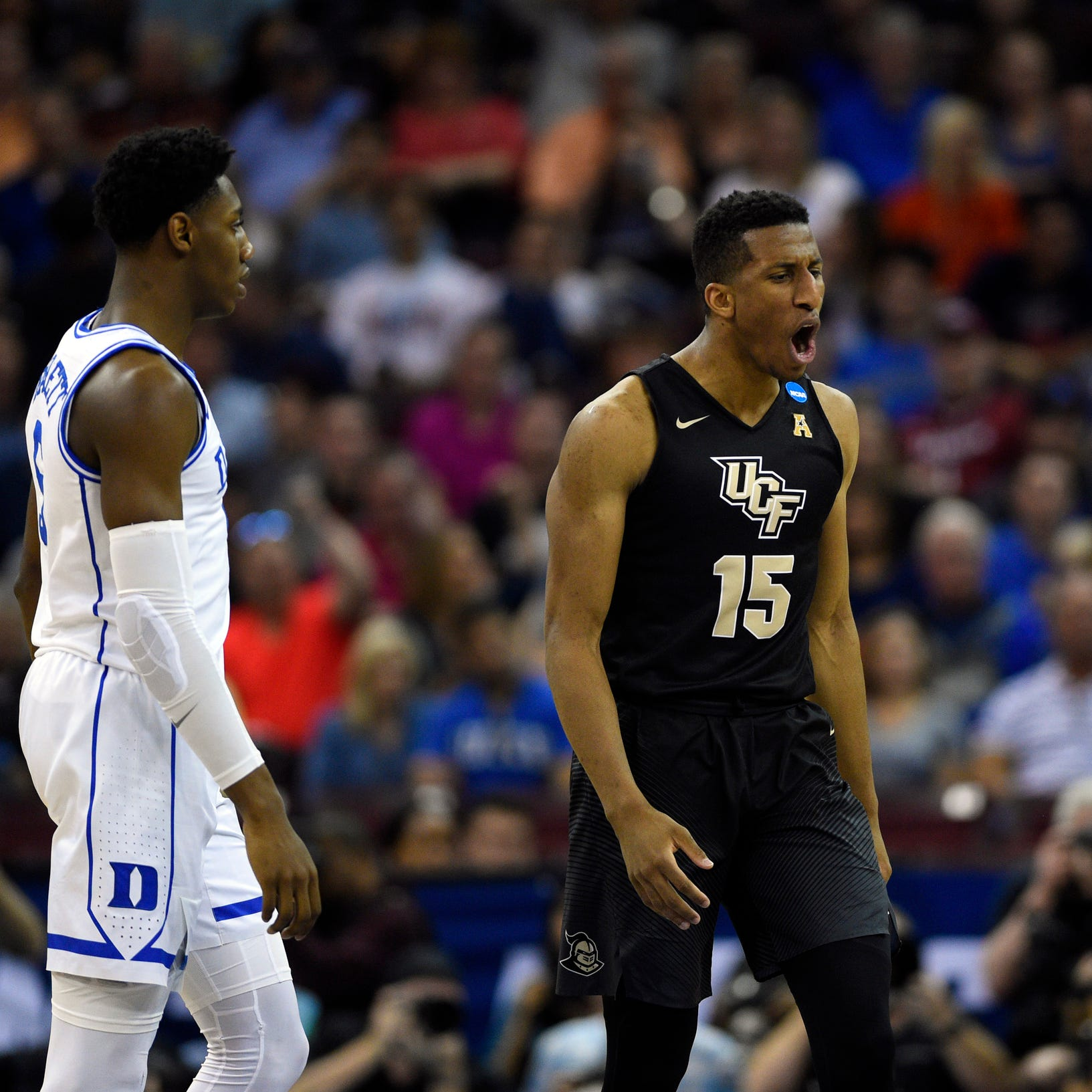 Duke somehow survives UCF upset bid and America mourns
