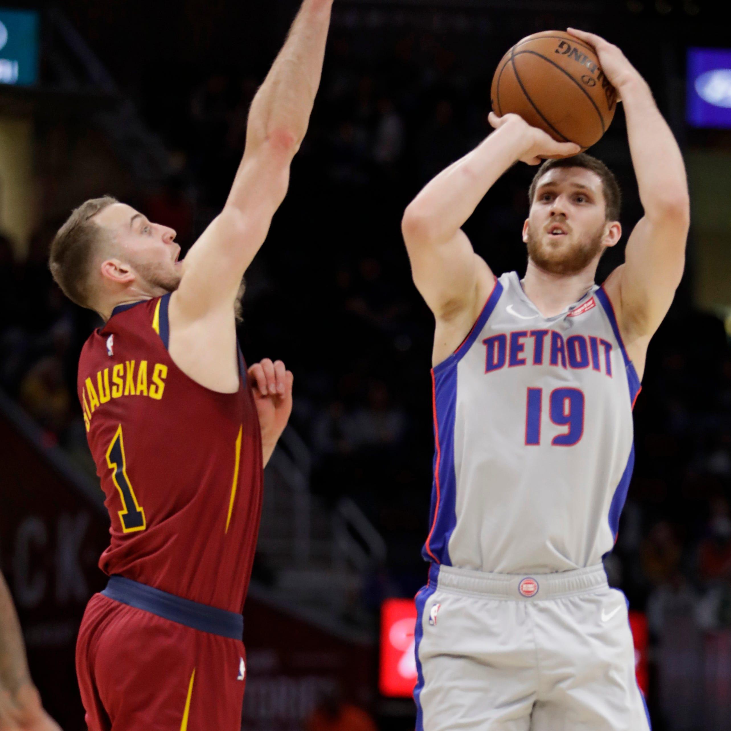 Beard:'Big-time shooter' Svi Mykhailiuk getting ripe for Pistons