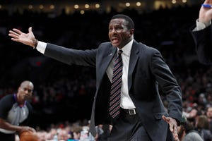 Pistons coach Dwane Casey insists he's not changing the lineup as the team enters the final stretch.