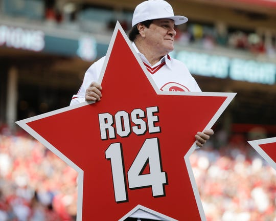 Pete Rose in 2016