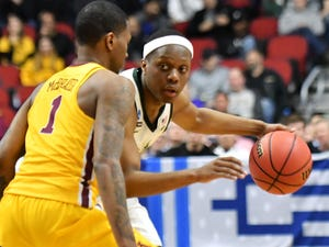 Michigan State guard Cassius Winston will face one of his biggest challenges against LSU's Tremont Waters in Friday's Sweet 16 matchup.