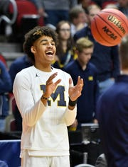 Michigan guard Jordan Poole