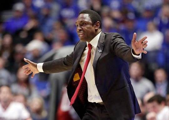Alabama parted ways with coach Avery Johnson after four seasons where he led the Crimson Tide to a 75-62 record.