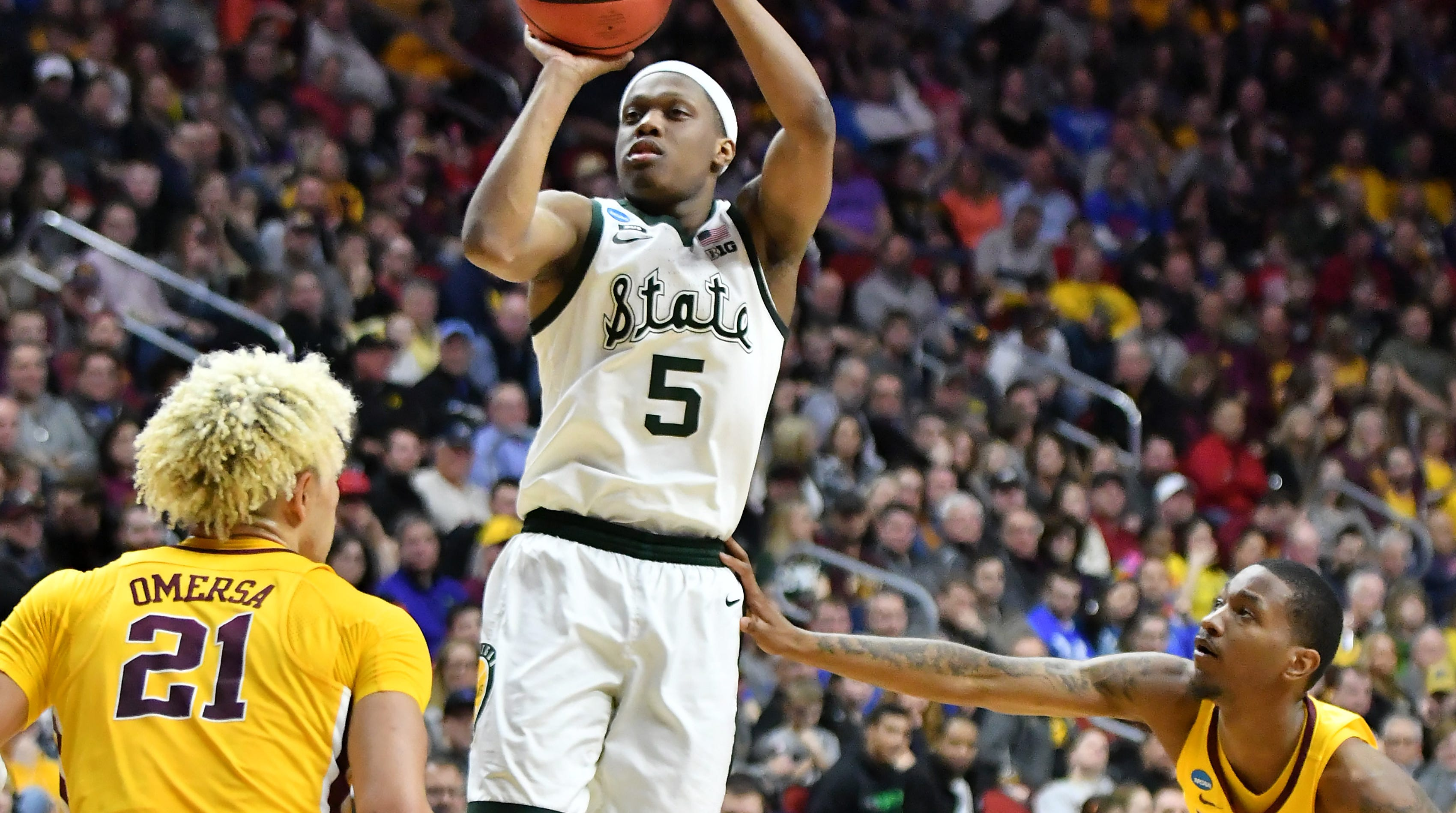 Michigan State overwhelms Minnesota, reaches first Sweet 16 in four years