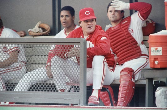 Pete Rose in June 1989
