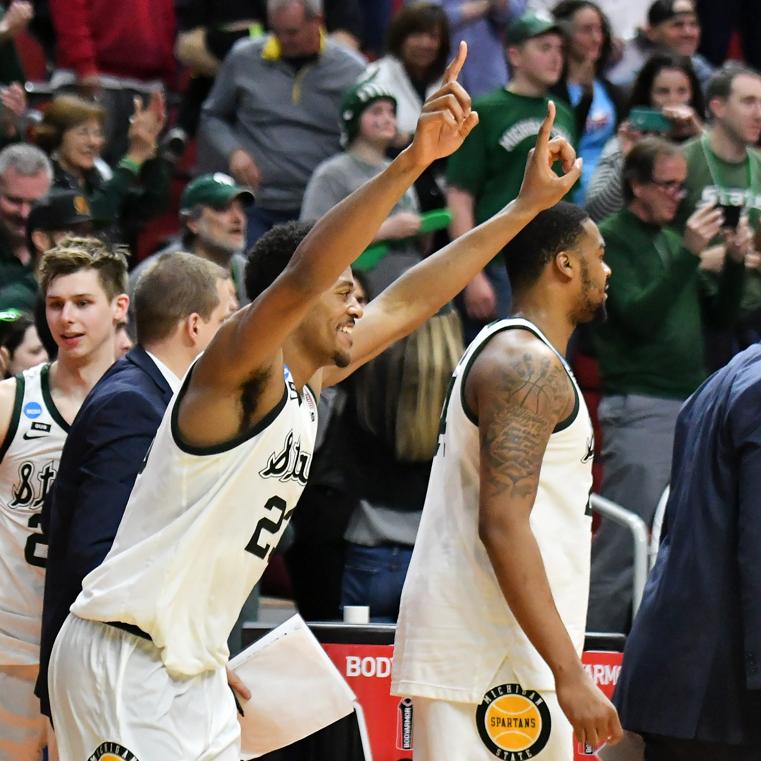 'This one feels better': Michigan State squashes Minnesota en route to first Sweet 16 in four years